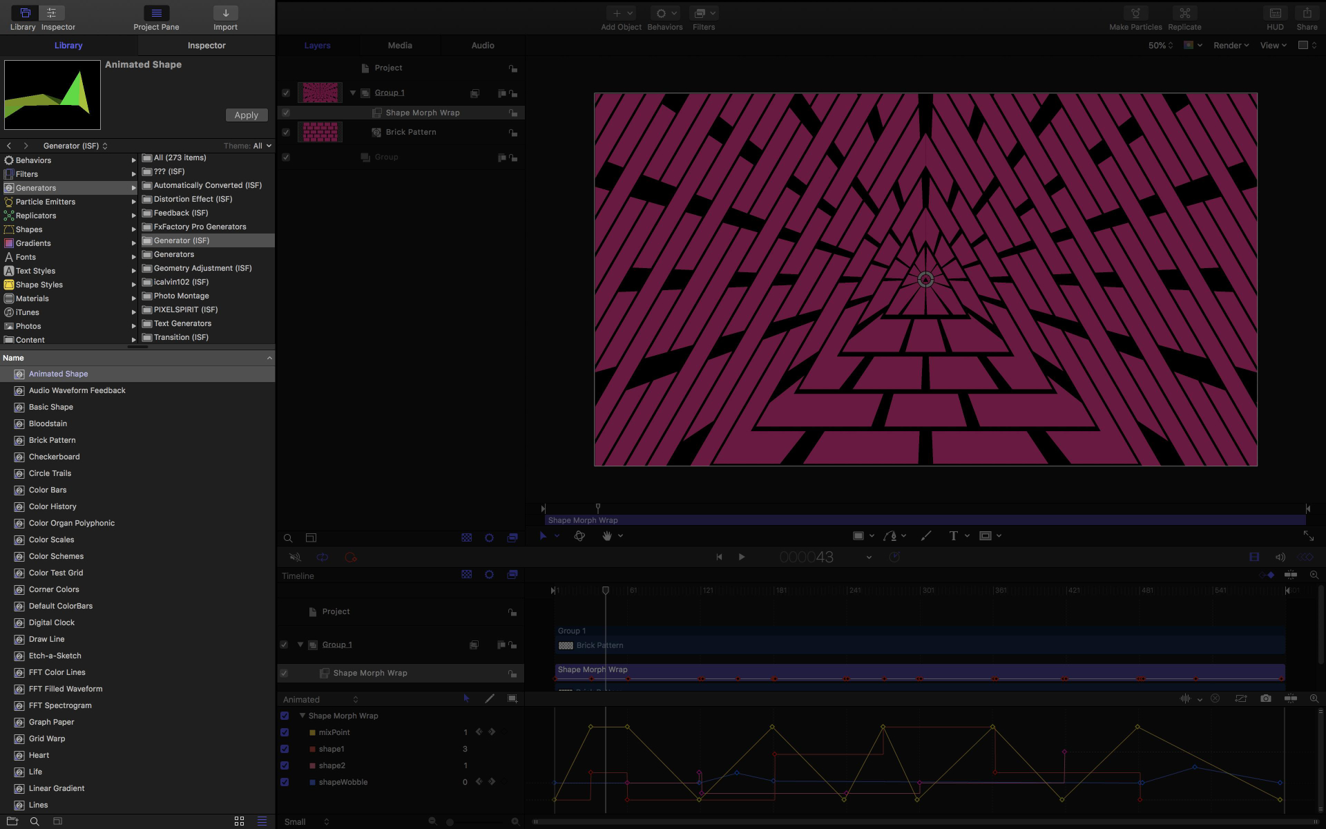 Creating templates in ISF For Motion to use with FCP X
